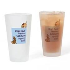 Cats vs. Dogs Pint Glass