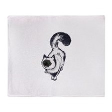 Birman Cat Throw Blanket