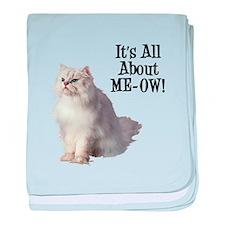 ME-OW Persian Cat baby blanket