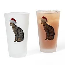 Savannah Cat Christmas Pint Glass