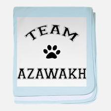 Team Azawakh baby blanket