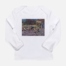 Beagle Art Long Sleeve Infant T-Shirt