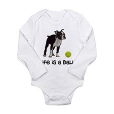 Boston Terrier Life Onesie Romper Suit