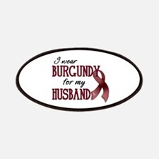 Wear Burgundy - Husband Patches