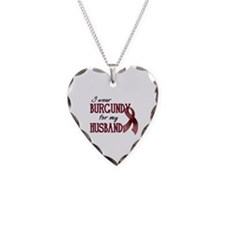 Wear Burgundy - Husband Necklace