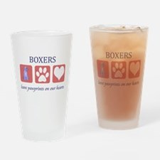 Boxer Lover Gifts Pint Glass