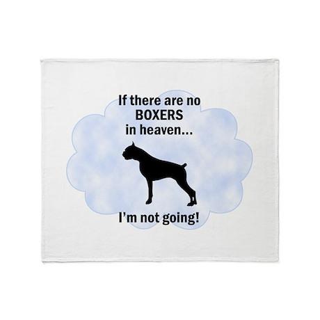 Boxers In Heaven Throw Blanket