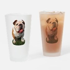 Bulldog Photo Pint Glass