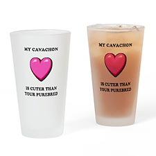 Cavachon Cuter Pint Glass
