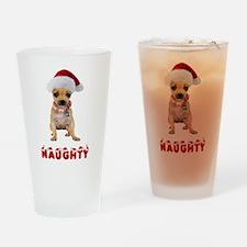 Naughty Chihuahua Pint Glass