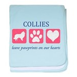Collie Baby Blanket