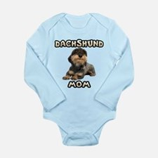 Wirehaired Dachshund Mom Long Sleeve Infant Bodysu