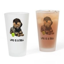 Wirehaired Dachshund Life Pint Glass