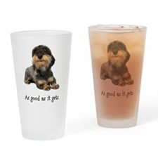 Good Wirehaired Dachshund Pint Glass