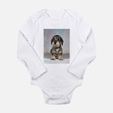 Wirehaired Dachshund Long Sleeve Infant Bodysuit