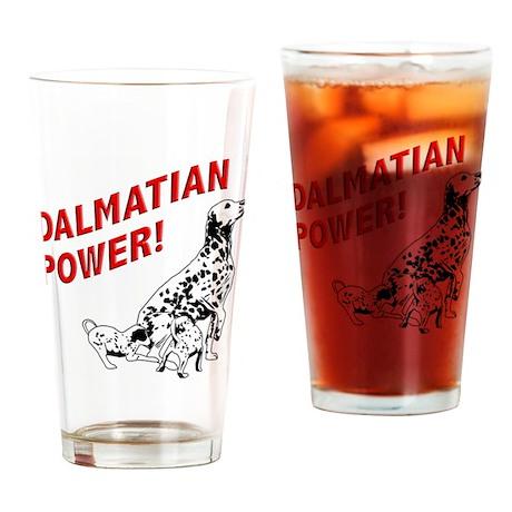 Dalmatian Power Pint Glass