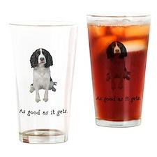 Good Springer Spaniel Pint Glass