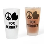 Fox Terrier Drinking Glass