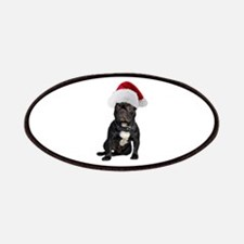 French Bulldog Christmas Patches