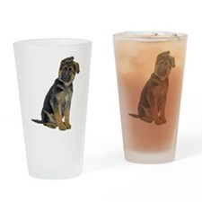 German Shepherd Puppy Pint Glass