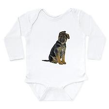 German Shepherd Puppy Onesie Romper Suit