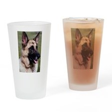 German Shepherd Photo Pint Glass
