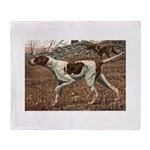 German Shorthaired Pointer Stadium Blanket