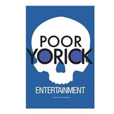 Poor Yorick Entertainment postcards (Package of 8)