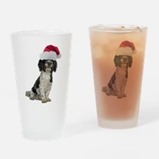 Santa Havanese Christmas Pint Glass