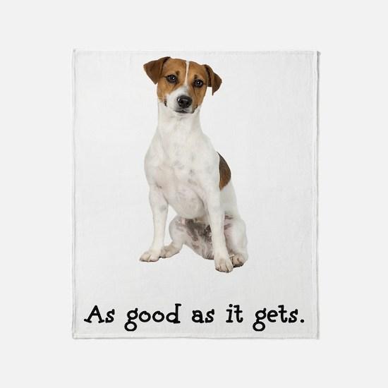 Good Jack Russell Terrier Throw Blanket