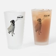Pug Off Pint Glass
