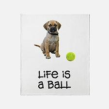 Puggle Life Throw Blanket