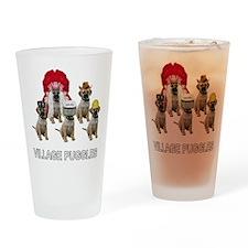 Village Puggles Pint Glass