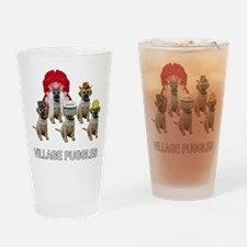 Village Puggles Pint Glass