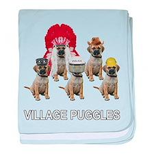 Village Puggles baby blanket