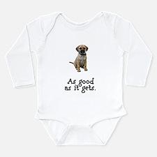 Good Puggle Long Sleeve Infant Bodysuit