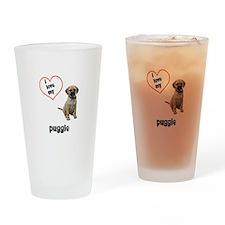 Puggle Lover Pint Glass