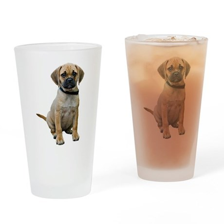 Puggle Pint Glass