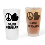Saint Bernard Drinking Glass