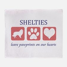 Sheltie Lover Gifts Throw Blanket