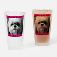 Shih Tzu Heaven Pint Glass