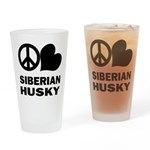 Siberian Husky Pint Glass