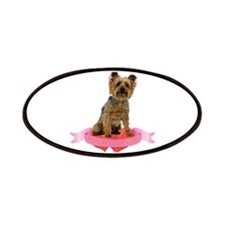 Silky Terrier Valentine Patches