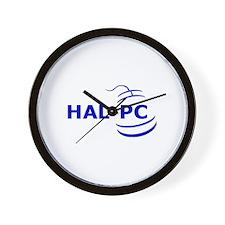 HAL-PC Wall Clock