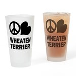 Wheaten Terrier Pint Glass