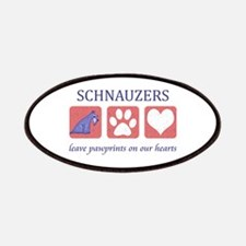 Schnauzer Lover Gifts Patches