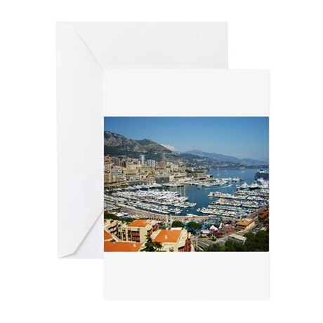 Monte Carlo, France Greeting Cards (Pk of 20)