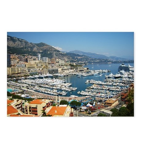 Monte Carlo, France Postcards (Package of 8)