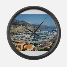 Monte Carlo, France Large Wall Clock