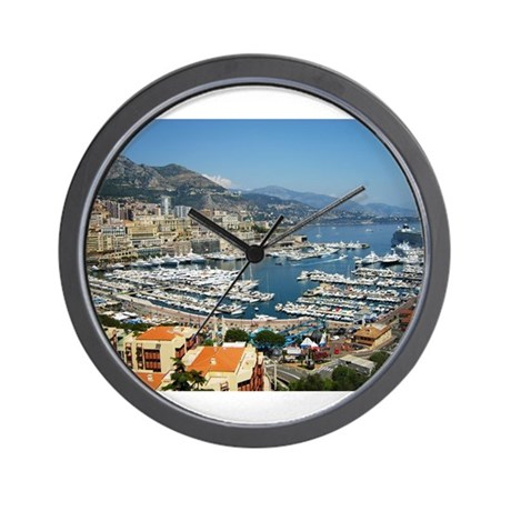 Monte Carlo, France Wall Clock